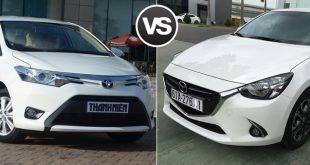 Mazda2 và Toyota Vios