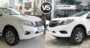 Nissan Navara và Mazda BT-50